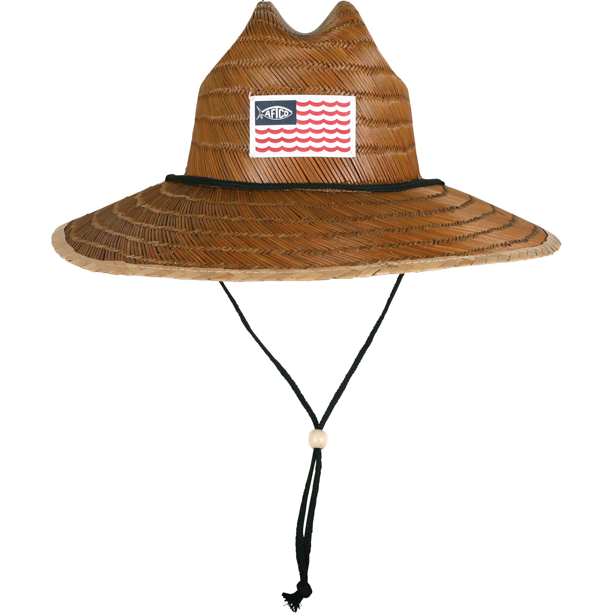 Aftco Aftco Palapa 3 Straw Youth Hat, Brown Color