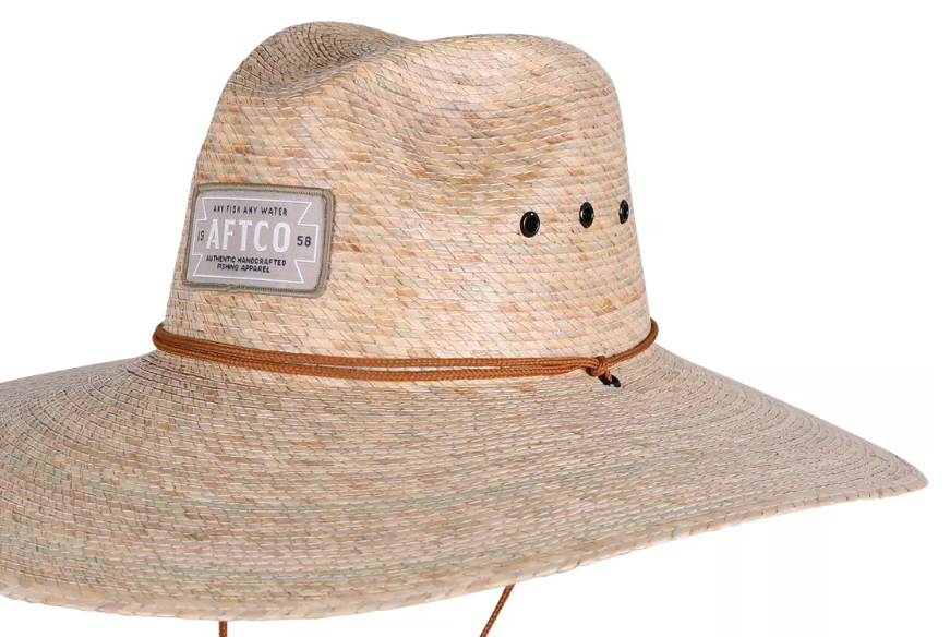 Aftco Aftco Women's Top Caster Straw Hat, Natural