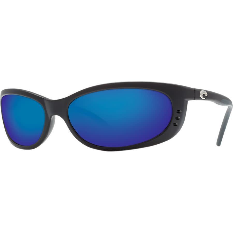 Costa Costa Fathom 11 Matte Black Frame w/ Blue Mirror 580P Lens