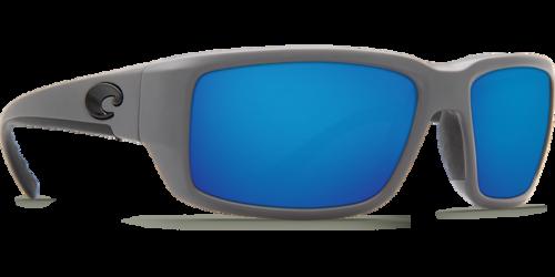 Costa Costa Fantail Pro 98 Matte Gray Frame w/ Blue Mirror 580G Lens