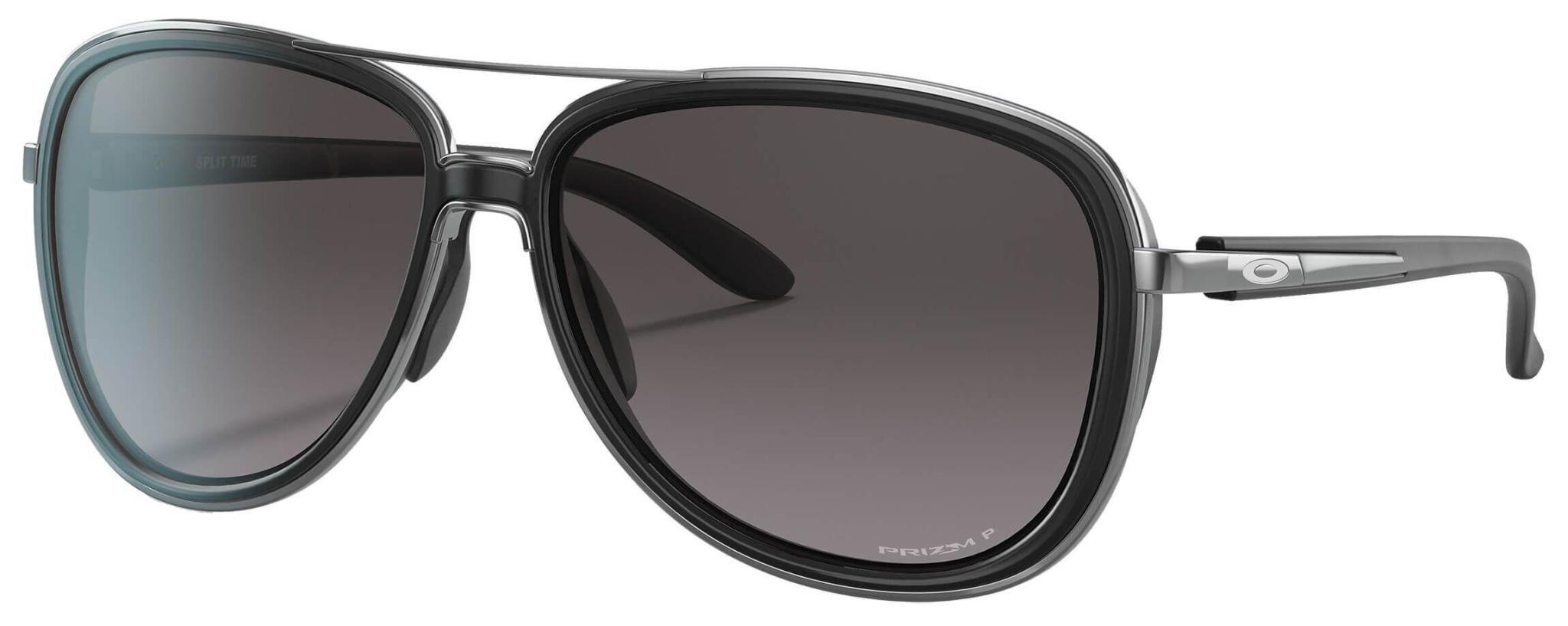 Oakley Oakley Split Time Velvet Black w/ Prizm Grey Gradient Sunglasses