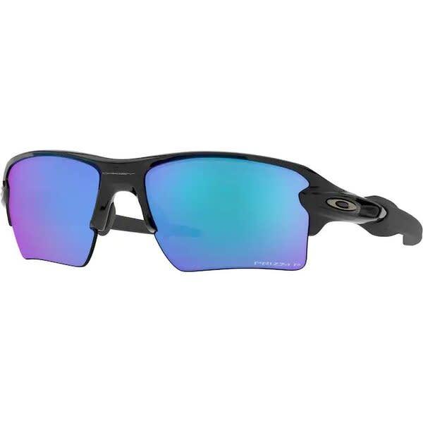 Oakley Oakley Flak 2.0 XL Polished Black w/ Prizm Sapphire Polarized Sunglasses