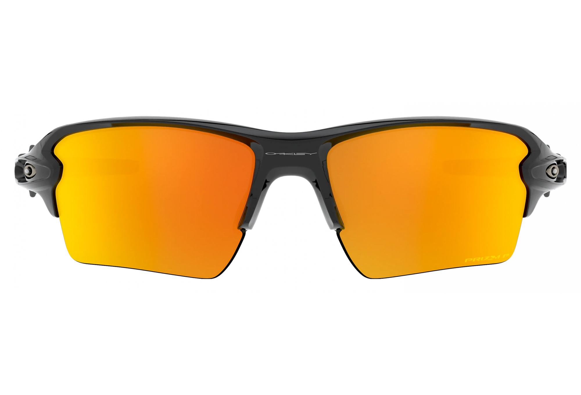 Oakley Oakley Flak 2.0 XL Polished Black w/ Prizm Ruby Polarized Sunglasses
