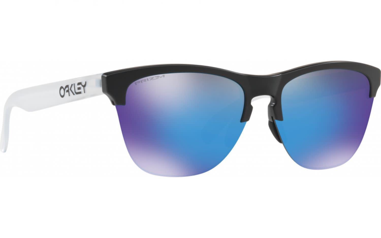 Oakley Oakley Frogskins Lite Matte Black w/ Prizm Sapphire Sunglasses