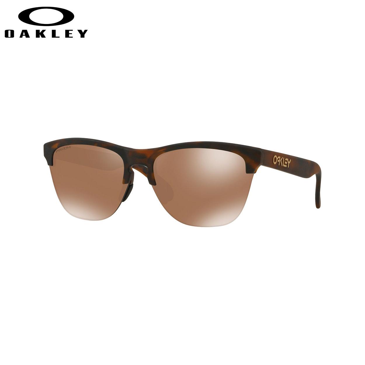 Oakley Oakley Frogskins Like Matte Brown Tortoise w/ Prizm Tungsten Sunglasses