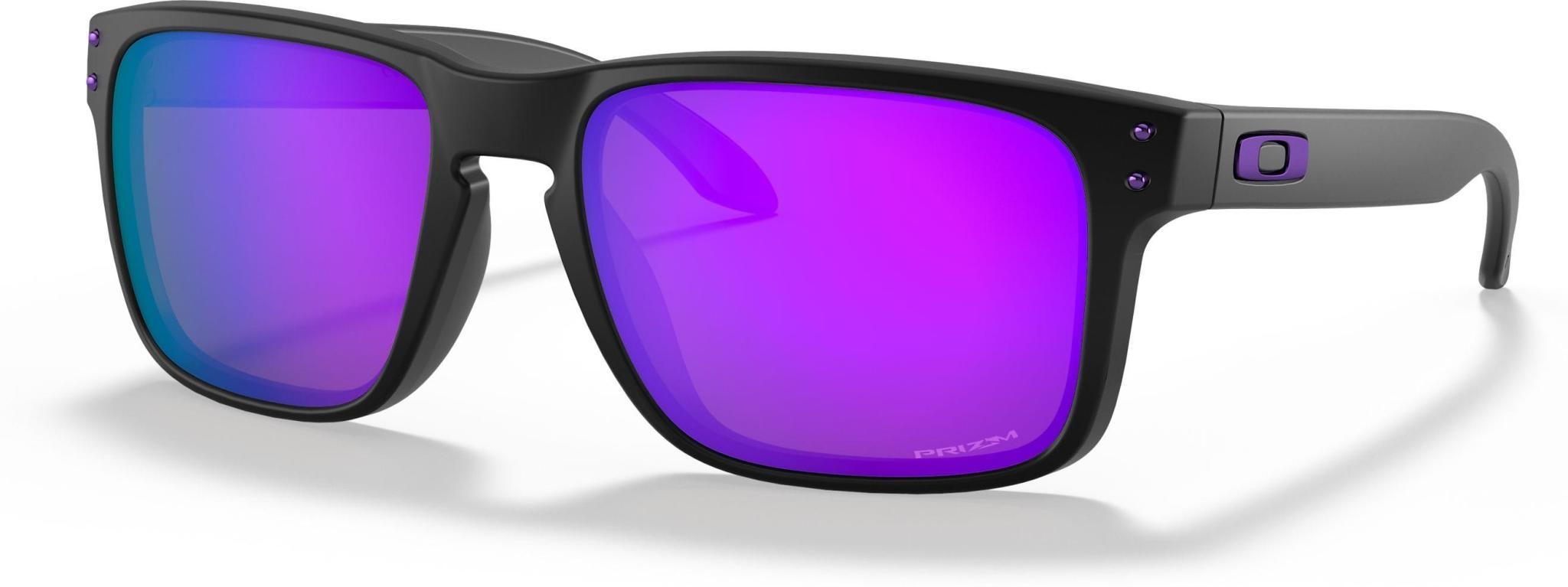 Oakley Oakley Holbrook XL Matte Black w/ Prizm Violet Polarized Sunglasses