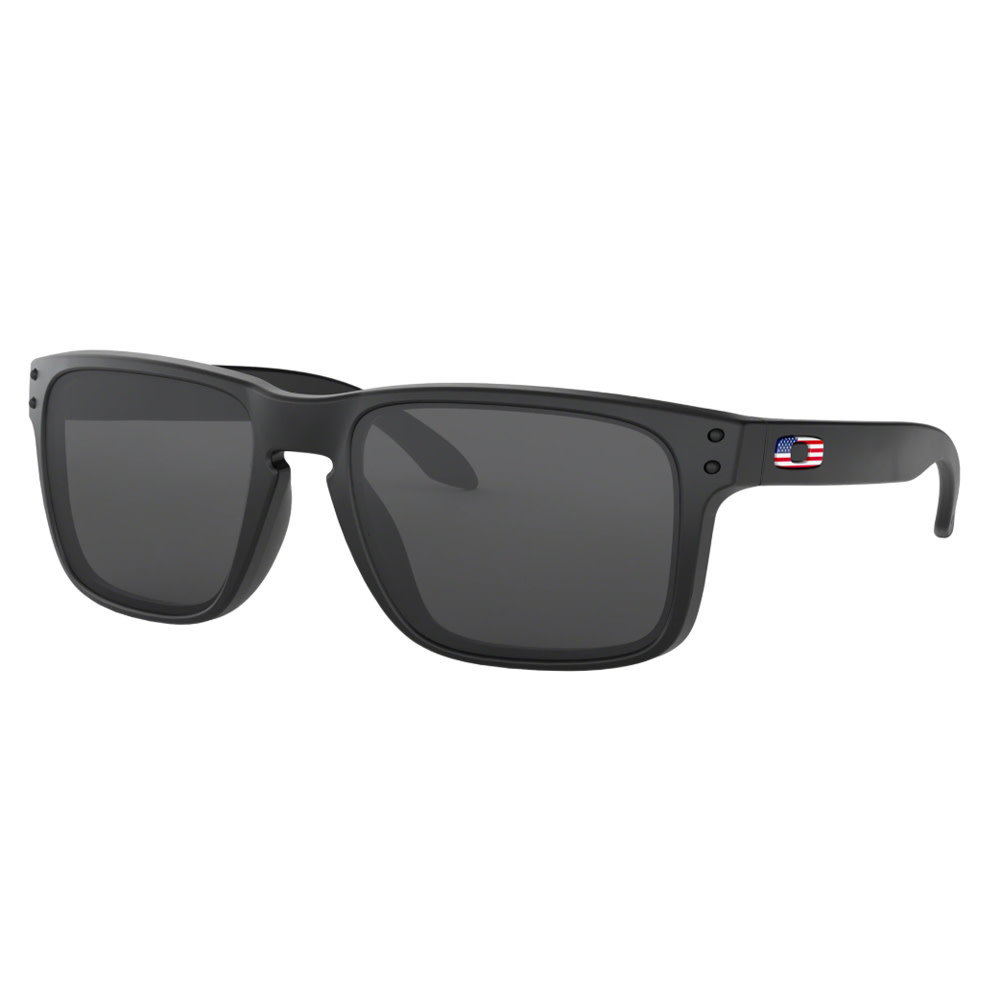 Oakley Oakley Holbrook Matte Black w/ Prizm Grey Sunglasses