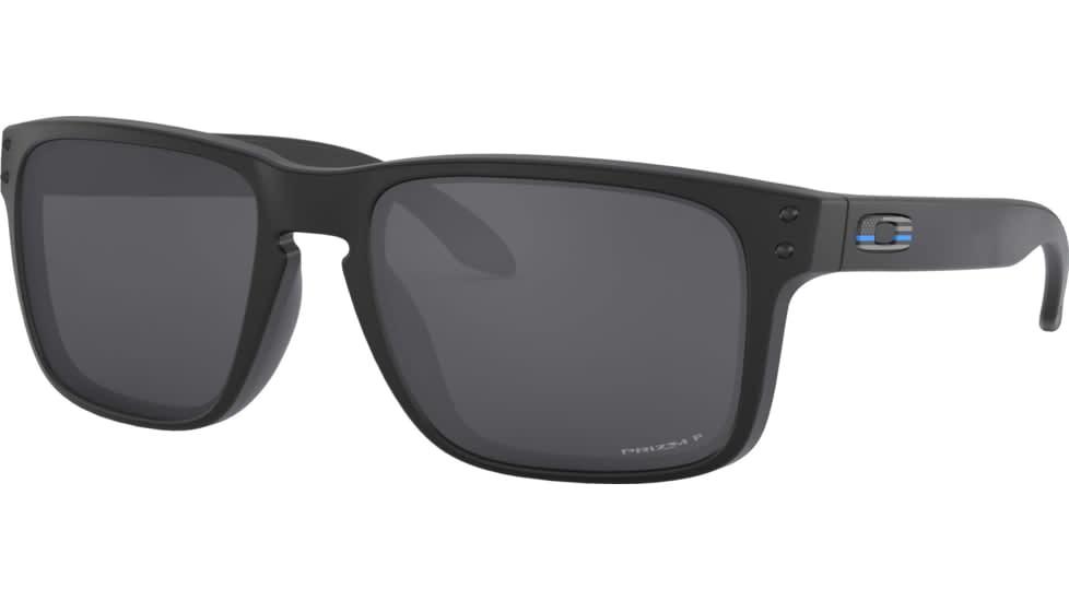 Oakley Oakley Holbrook Matte Black w/ Prizm Black Polarized Sunglasses