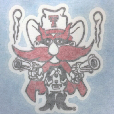 Car Decal - Raider Red