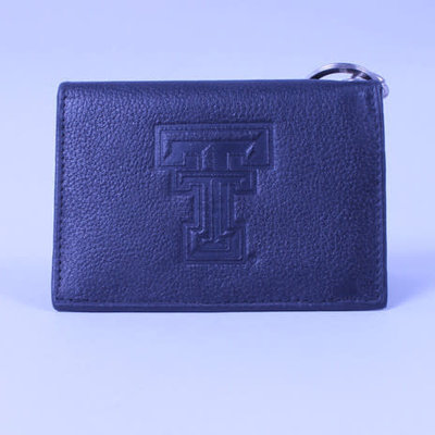 Leather Snap ID Wallet