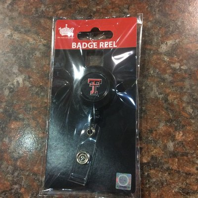 Badge Reel - Black
