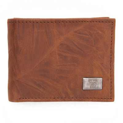 Brandish Bi-fold Wallet Brown
