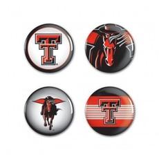 4 Pk. TTU Buttons