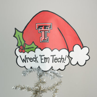 Tree Topper Texas Tech