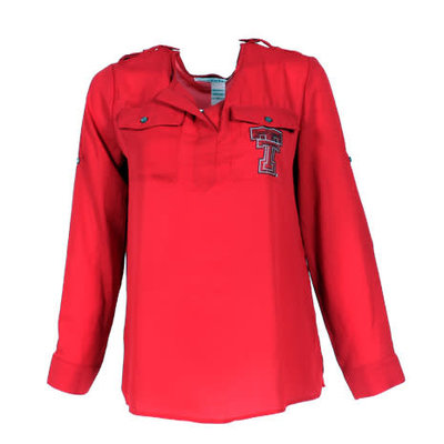 Women's Dbl T Pocket Blouse - 7500
