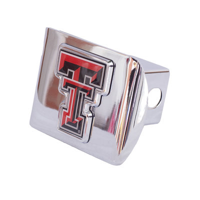 Hitch Cover Chrome with Color Double T