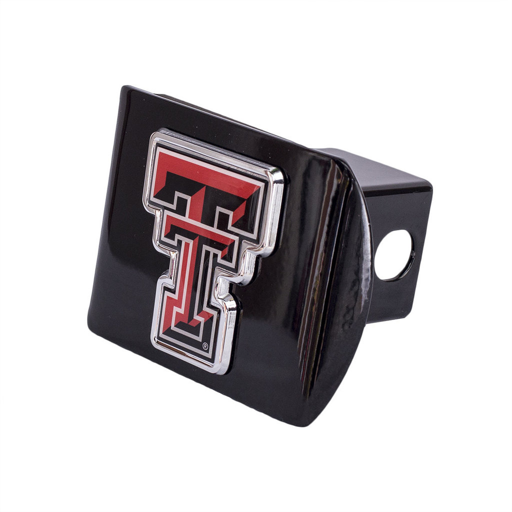 Hitch Cover Black with Color Double T