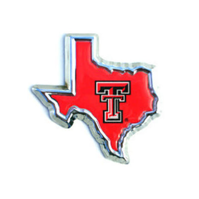 Auto Emblem Double T Shape of TX Red
