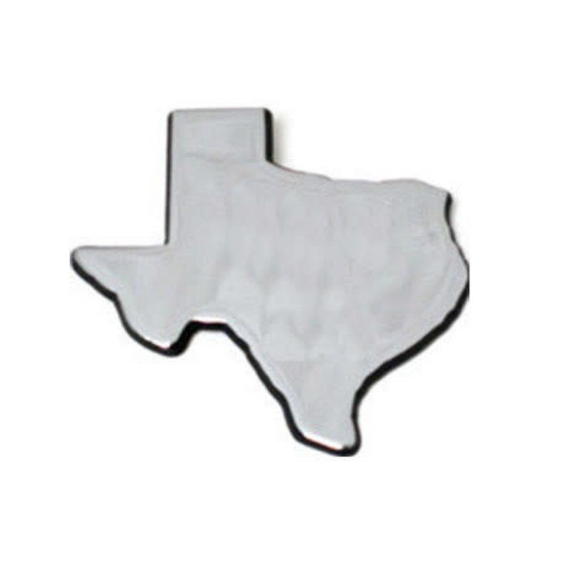 Auto Emblem Chrome State of TX
