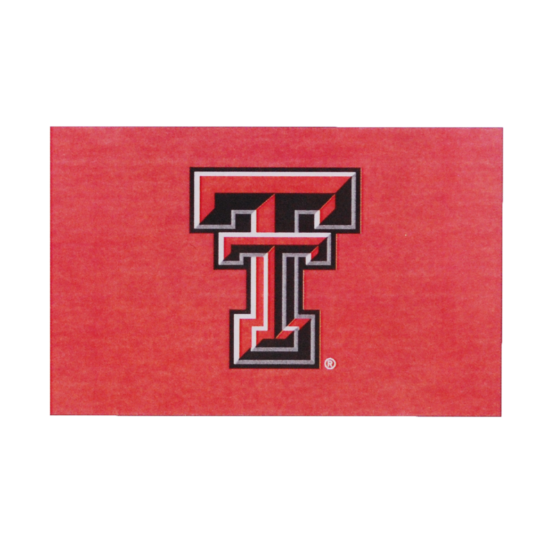 2' x 3' Red Flag w/ Double T