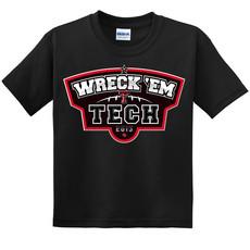 Youth Wreck em Black T-Shirt 2015 Black Large