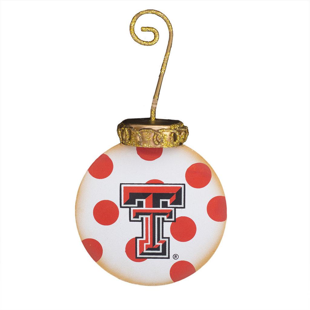 Texas Tech Elegant Ornament