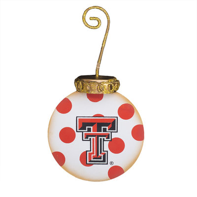 Texas Tech Elegant Ornament