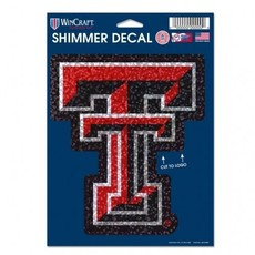 Shimmer Double T Decal