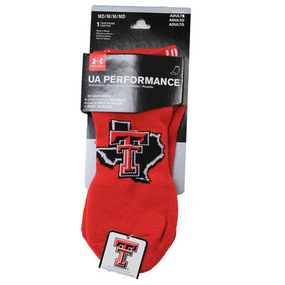 UA No Show Socks Adult