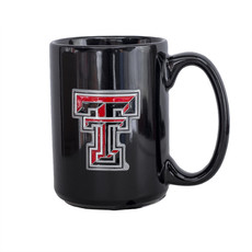Coffee Mug with Double T Medallion