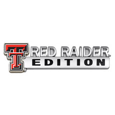 Auto Emblem Red Raider Edition