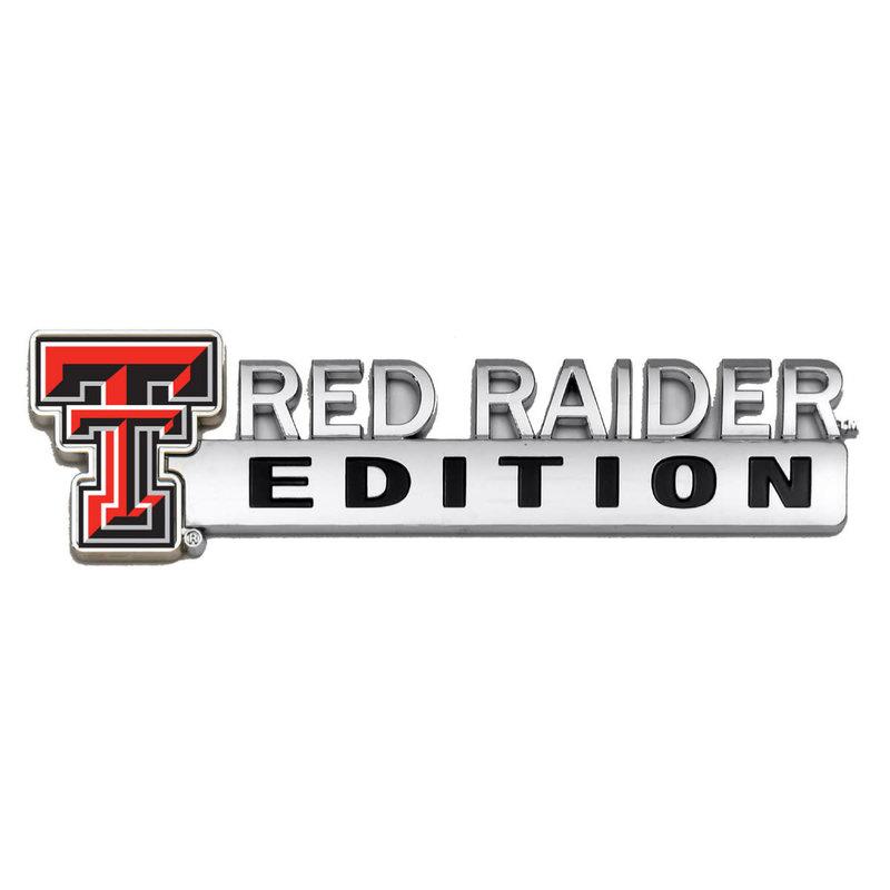 Auto Emblem Red Raider Edition
