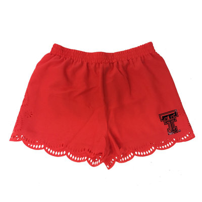 TTU Laser Cut Shorts