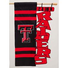 Texas Tech Cut Out Garden Flag