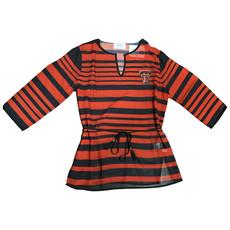 Texas Tech Sheer Striped Tunic