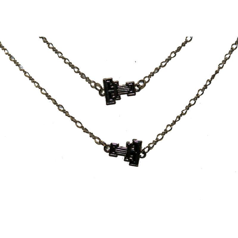Texas Tech Logo Chain Necklace