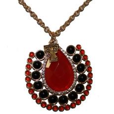 Texas Tech Medallion Necklace