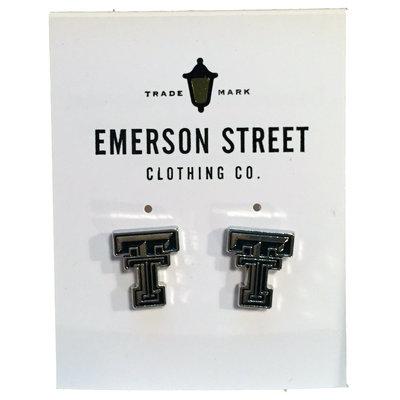 Texas Tech Logo Stud Earrings