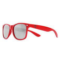 Texas Tech Sunglasses - Red Front, Silver Lenses