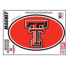 Texas Tech Circle Magnet