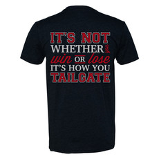 How You Tailgate Ladies Vneck Tee