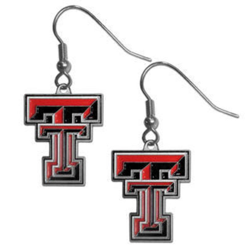 Dangle Double T Earrings
