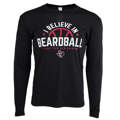 I Believe Beardball LST Poly Tee