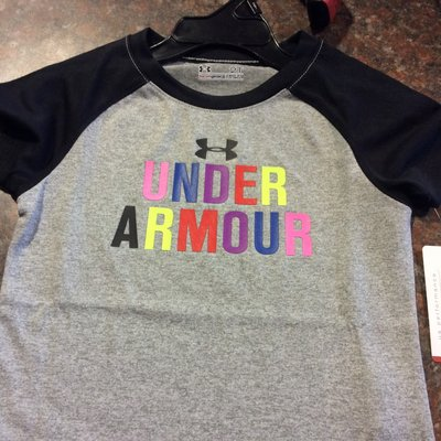 UA Colorful Raglan Toddler Tee