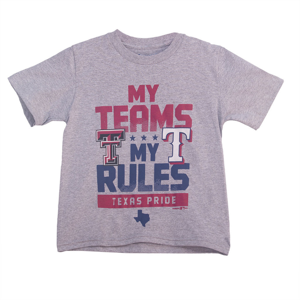 Rangers Texas Tech Tee Youth