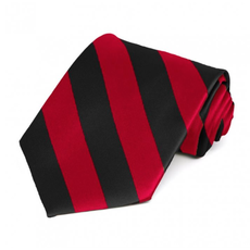 Stripe Poly Tie