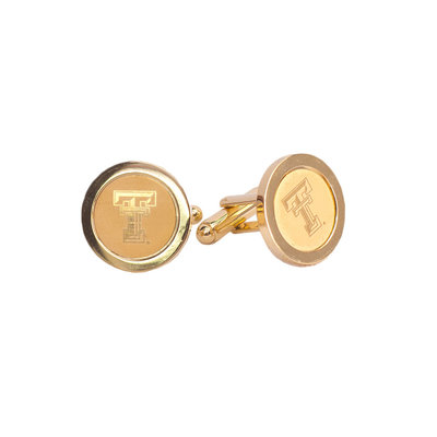 2 k Gold Plated Cuff Links