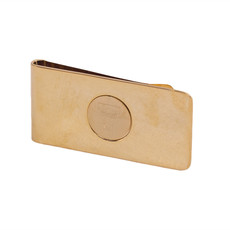23k Gold Plated Money Clip