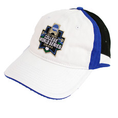 NCAA 2017 CWS Washed Twill Double Accent Cap