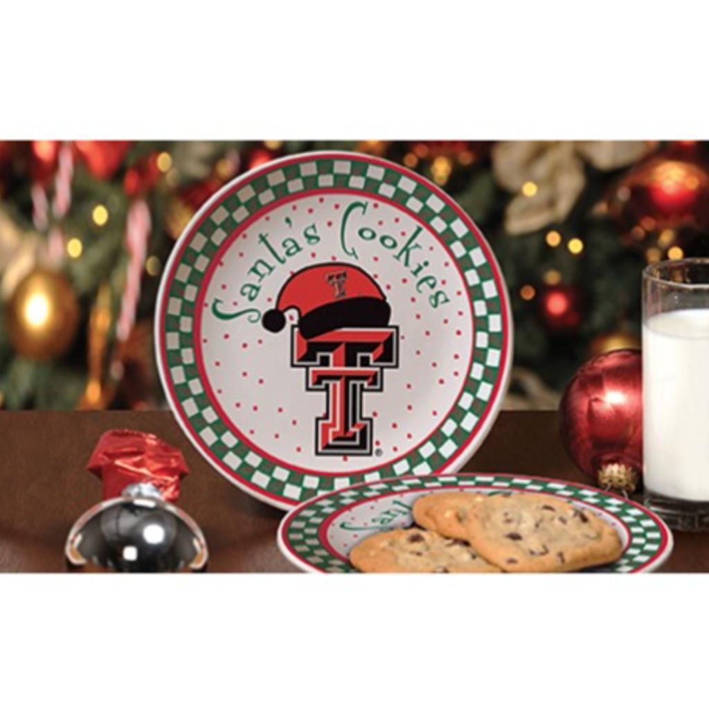 Santa Cookie Plate